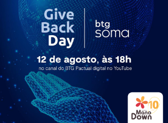 Give back Day BTG Pactual Mano Down