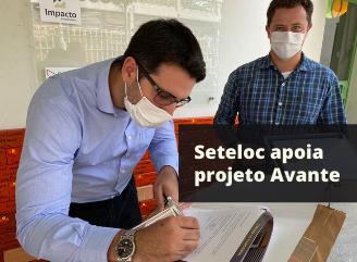 Seteloc apoia projeto avante mano down